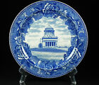 Antique Wedgwood Grant's Tomb Historical Blue & White Transfer Plate