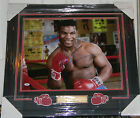 MIKE TYSON SIGNED PHOTO AUTO 16X20 FRAMED & MATTED PSA DNA COA