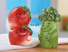 Collections Etc Vegetable Salt And Pepper Shakers