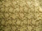 Fabric BTY Calico Olive Green Tone on Tone 100 % Cotton Quilting Crafts Sewing