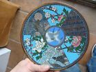 RARE! ANTIQUE CLOISONNE AESTHETIC JAPANESE OR CHINESE ROUND PLATE
