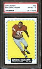 1964 Topps Football BUCK BUCHANAN #92 Rookie Chiefs PSA 8 NM MT