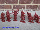NEW WOODLAND INDIANS SET 1 FRENCH & WAR ARMIES IN PLASTIC 1/32 54 MM
