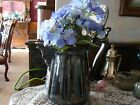 Quadruple Silver Lined Ornate Pitcher-#0455 Marked Victorian Vintage late 1800s