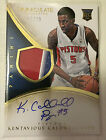 Kentavious Caldwell-Pope 2013-14 Panini Immaculate 3 color Patch RC Aut