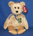 TY PREMIER the BEAR BEANIE BABY - MINT with MINT TAGS -  UK EXCLUSIVE