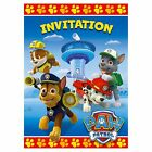8 Paw Patrol Rescue Pets Birthday Party Invite Invitations Cards plus Envelopes