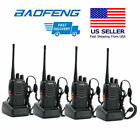 4x Baofeng BF-888S 400-470MHz 5W CTCSS Dual-Band Two-way Ham Radio Walkie Talkie