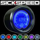 SICKSPEED HIGH PERFORMANCE 52MM WATER TEMPERATURE GAUGE P3 MULTICOLOR 7 COLOR