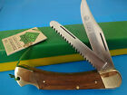 PUMA 220 971 GAME WARDEN 2-BLADES Folding Knife -Solingen-VINTAGE 1980'S  Mint!