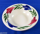 Syracuse China Chantilly Cereal Bowl Red / Pink Blue Green Restaurant Ware