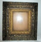 Antique Victorian Ornate Gesso Deep Picture Frame 8x10 Opening 18 x 20 Overall