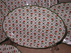 Johnson Brother 5pc England Oval Montpellier Dinner Plate Salad Cereal Bowl SET