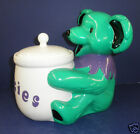 NIB Vandor GRATEFUL DEAD Green BEAR Limited Edition Cookie Jar #72/3600