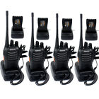 4x RETEVIS H777 Walkie Talkie UHF 16CH CTCSS/DCS Ham 2-Way Radio in US Stock