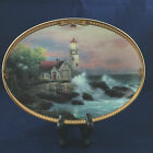 Thomas Kinkade Hope's Cottage Oval Collector Plate Scenes of Serenity 1995
