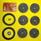 PARTS KIT 16 NEW PARTS FIT JUSTRITE CARBIDE LAMP TIP FELTS FLINTS GASKET NUT