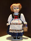Cute Vtg CROWNE FINE PORCELAIN DOLL 1990 ARTMARK Chicago IL 16