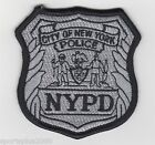 NEW YORK CITY POLICE ~ NYPD EMBROIDERED PATCH ~ MEASURES 3-1/8