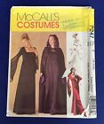 Petite Medieval Gown Cape McCalls Sewing Pattern 2810 SZ 16 18 20 Gothic P247 UC