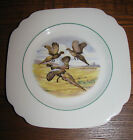 Vintage Atlas Fine China Decorative Plate, Quails / Birds