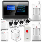 Wireless Wired LCD GSM Home House Alarm System Auto Dialer Wireless Panic Button