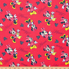 By 1/2 yard Minnie Loves Shopping Red FLANNEL 100% cotton Springs Creative