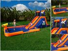 Inflatable Water Slide Park Bouncer Bounce House Jump Kid Play ZONE w UL blower