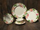 Vintage Franciscan Desert Rose 5 Piece Place Setting Made in USA - TV Mark