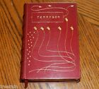 Poetical Works of ALFRED LORD TENNYSON Antique FINE BINDING Leather Book Poems