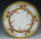 LOVELY LIMOGES FRANCE HAND PAINTED BERRIES PLATE