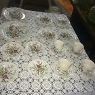 MADE IN ENGLAND BOOTHS FLOWERPIECE A-8064 20 PC.DISH SET PLATES CUPS SAUCERS