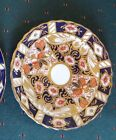 Scalloped Saucer from England, Similar to Royal Crown Derby Traditional Imari