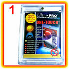 1 Ultra Pro ONE TOUCH MAGNETIC 180pt UV Card Holder Display Case Two Piece 82333