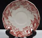 Johnson Brothers China Strawberry Fair-Pink Pattern Saucer only no Cup