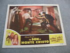 The Son of Monte Cristo Movie #47/1367 6 Starring Louis Hayward 1947 lobby card