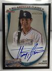Alex Jackson 2015 Bowman All-America Game RC on-card Auto #'d 68 200 - MARINERS