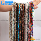Assorted Stones 5 8mm Chips Stone Freeform Nugget Gravel Beads Strand 34