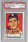 Warren Spahn Cards, Rookie Cards and Autographed Memorabilia Guide 39