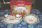 Coca Cola Good Ol' Days 4 Piece Completer Set - # 50159.04  by Gibson