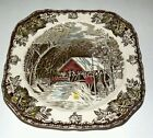 The Covered Bridge/The Friendly Village Plate by Johnson Brothers