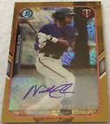 Nick Gordon 1 50 1 1 2015 Bowman Chrome Mini Gold Refractor Auto Autograph Twins