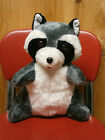 Stuffed Plush Vintage Raccoon by SUPERIOR TOY & NOVELTY Inc. - Made in Korea