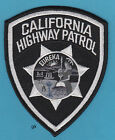 CALIFORNIA HIGHWAY PATROL POLICE SHOULDER  PATCH ( Subdued -Black)