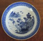 18th c. English Porcelain Saucer Plate Bowl Blue & White Chinese Spode Worcester