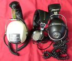3 Vintage Headphone Lot Pioneer SE-505 Sansui SS-10 Unisound
