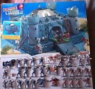 SIMBA 54mm Dragon Castle Playset MIB with 30 extra toy knights like MARX