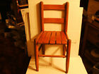 Vintage Antique 1920s Oak Child's School chair All Original Finish Very Nice Old