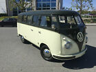 Volkswagen  Bus Vanagon deluxe Born in September of 1957  released in 1958 Rare Palm Green Sand Green VW Bus