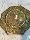 Goethe Brass Plate Plaque 1749-1832 Wall Decor Collectible